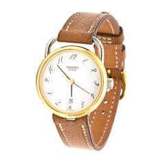 Wrist Watch HERMÈS Arceau Golden, bronze, copper