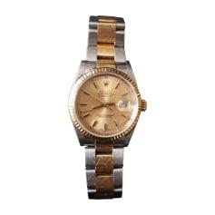 Armbanduhr ROLEX Silberfarben, stahlfarben