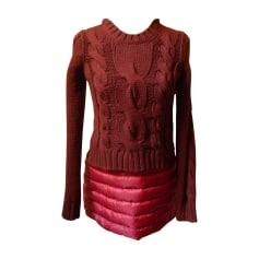 Abito in maglial MONCLER Rosa, fucsia, rosa antico