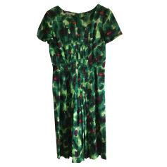 Robe mi-longue ARMAND VENTILO Vert