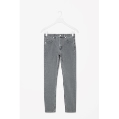 Jeans slim COS Gris, anthracite
