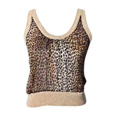 Top, tee-shirt DOLCE & GABBANA Imprimés animaliers