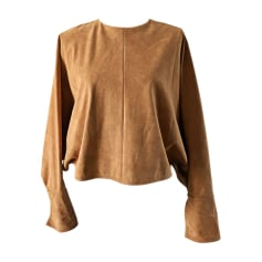 Top, T-shirt STELLA MCCARTNEY Golden, bronze, copper