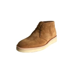 Lace Up Shoes OPENING CEREMONY Beige, camel