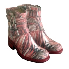Biker Ankle Boots FREE LANCE Multicolor