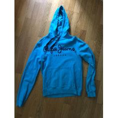 Sweat PEPE JEANS Bleu, bleu marine, bleu turquoise