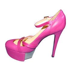 Pumps, Heels VERSACE Pink, fuchsia, light pink