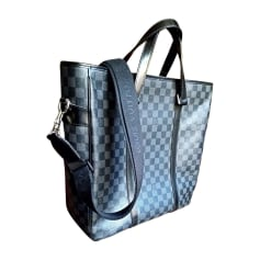 Cabas LOUIS VUITTON Gris, anthracite