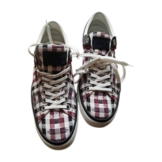 Sneakers LOUIS VUITTON Red, burgundy