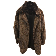 Manteau en fourrure THE KOOPLES Imprimés animaliers