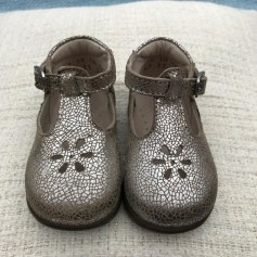 Chaussures à boucle ASTER Argenté, acier