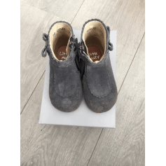 Ankle Boots LITTLE MARY Gray, charcoal