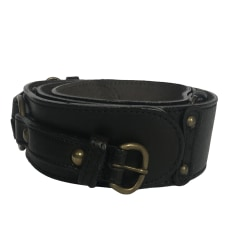Wide Belt ABACO Black