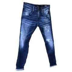 Skinny Jeans REPLAY Blau, marineblau, türkisblau
