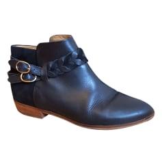 Bottines & low boots plates SÉZANE Noir