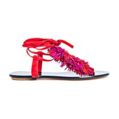 Flat Sandals VANESSA BRUNO Rouge|violet