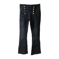 Jeans évasé, boot-cut BERENICE Noir