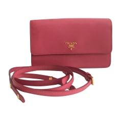Lederhandtasche PRADA Pink,  altrosa