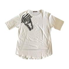 Tee-shirt ROBERTO CAVALLI Blanc, blanc cassé, écru