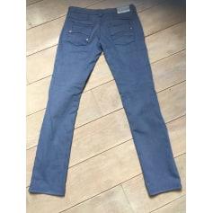 Pantalon droit ARMANI EA7 Bleu, bleu marine, bleu turquoise