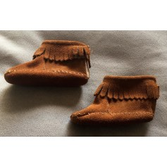 Ankle Boots MINNETONKA Brown