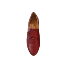 Lace Up Shoes SÉZANE Red, burgundy