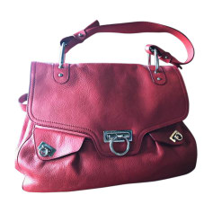 Leather Handbag SALVATORE FERRAGAMO Red, burgundy