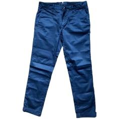 Slim Fit Pants  INCOTEX Blue, navy, turquoise