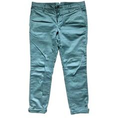 Slim Fit Pants  INCOTEX Khaki