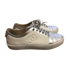 Scarpe da tennis CHANEL Bianco, bianco sporco, ecru