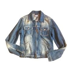 Jacket VERSACE Blue, navy, turquoise
