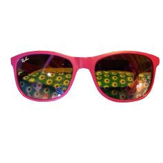 Lunettes de soleil Femme Rose, fuschia, vieux rose de marque   luxe ... add5a983bb23