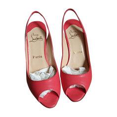 Peep-Toe Pumps CHRISTIAN LOUBOUTIN Pink, fuchsia, light pink
