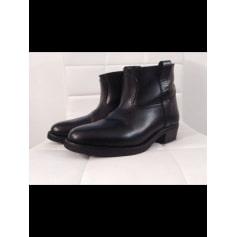 Bottines & low boots plates LA BOTTE GARDIANE Noir