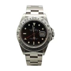 Armbanduhr ROLEX EXPLORER II Schwarz
