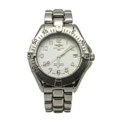 Wrist Watch BREITLING White, off-white, ecru