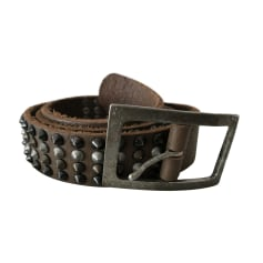 Wide Belt ZADIG & VOLTAIRE Brown