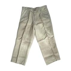 Wide Leg Pants COMME DES GARCONS Beige, camel