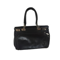 Leather Handbag LANCEL Balencel Black