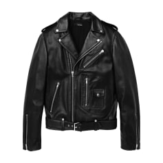 Leather Jacket THE KOOPLES Black