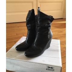 Bottines & low boots à compensés AIRSTEP Noir