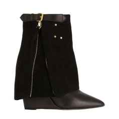 Wedge Ankle Boots JEROME DREYFUSS Black