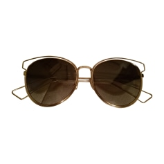 Sunglasses DIOR Golden, bronze, copper