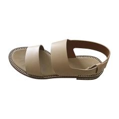 Sandales plates  GIVENCHY Beige, camel