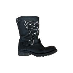 REPLAY femmes cool haute hiver yeti Bottes Chaussures Bottes Bottines Neuf PQWpxDKM