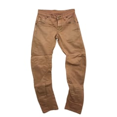Jeans slim G-STAR Beige, camel