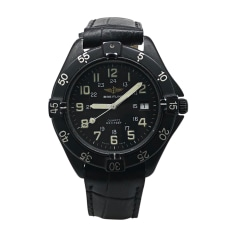 Wrist Watch BREITLING Black