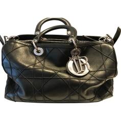 Leather Handbag DIOR Black