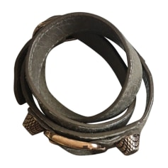 Armband BALENCIAGA Grau, anthrazit