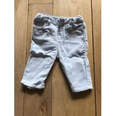 Pantalon droit BABY DIOR Bleu ciel